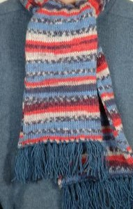 Beginner's Fair Isle Scarf