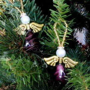 Heavenly Beaded Angel Ornament
