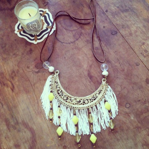 Fantastic Fringe Beaded Necklace