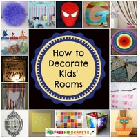 39 Kids' Bedroom Ideas: DIY Decorating for Boys, Girls, and Teens