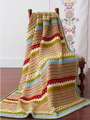 Swedish Countryside Afghan
