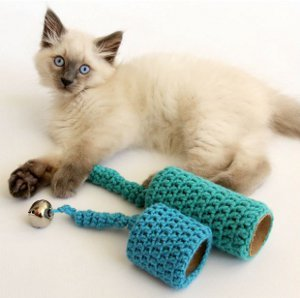 Blue Bells Cat Toy