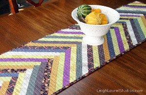 Sewn Herringbone Table Runner
