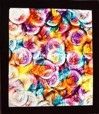 Wax Paper Stained Glass Art