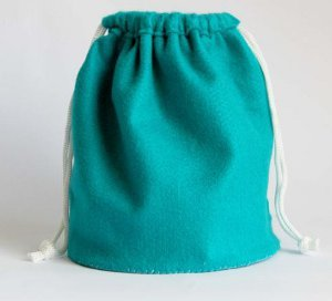 Easy Felt Drawstring Bag