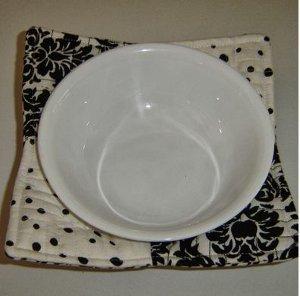 microwave bowl holder. Black Bedroom Furniture Sets. Home Design Ideas