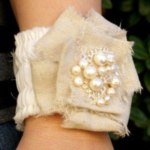 Romantic Ruffled Bracelets