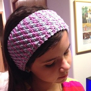 Star Stitch Headband Allfreeknitting Com