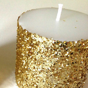 Great Gatsby Gold Candles