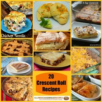 Crescent Roll Recipes: 20 Crescent Roll Casseroles