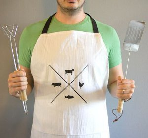 Rugged Aprons for Men