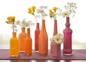 Simple and Chic Painted Vases
