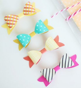 Too Cute Two-Toned Bowties