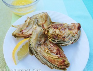 Cheesecake Factory Copycat Grilled Artichokes