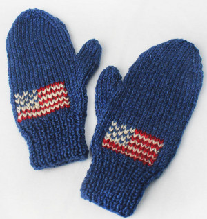 Team USA Knit Mittens