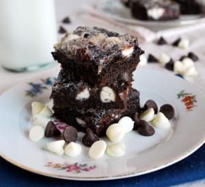 Chocolate Overload Cake Bars