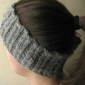 Simple Ribbed Headband