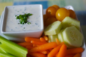 Low-Fat Homemade Ranch Dressing