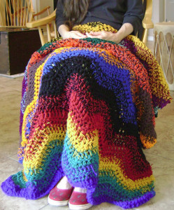 Rainbowghan Crochet Pattern