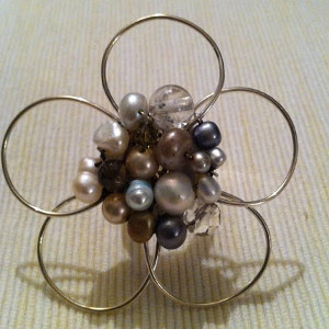 Fabulous Five Petal Wire Flowers