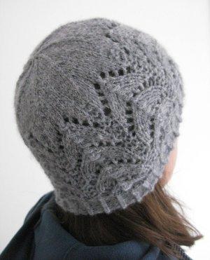 Knit Picky Patterns From Allfreeknitting : Cladach Lace Hat AllFreeKnitting.com