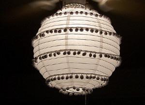 Vintage Wedding Paper Lantern
