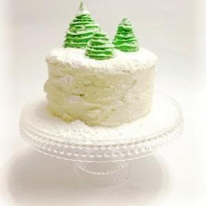 Little Trees Wedding Cake Designs