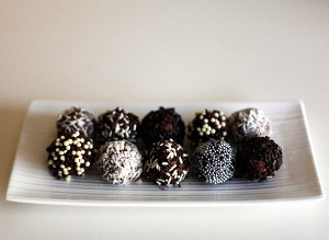 Late Night Rum Balls Recipe