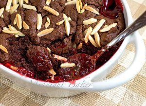 Cracker Barrel Copycat Chocolate Cherry Cobbler
