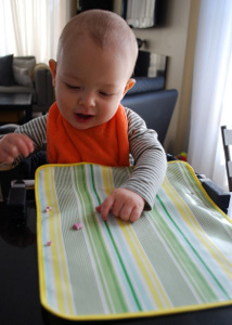 Washable Baby DIY Placemats