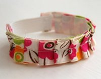 Ruffled Ribbon Bracelet