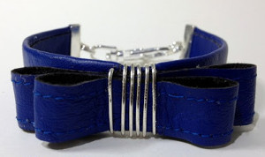 Kate Spade Leather Bow Cuff Bracelet