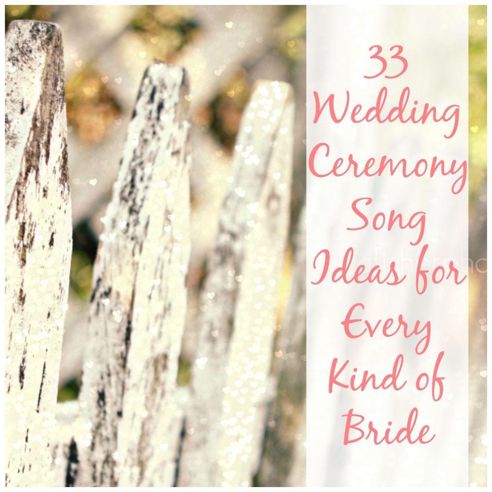 Wedding Song For Church Ceremony: AllFreeDIYWeddings.com