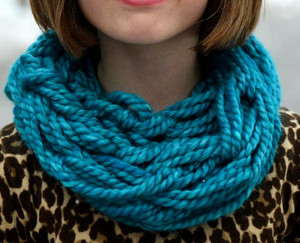 Arm Knit Children's Cowl