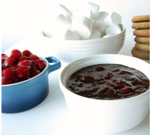 Chocolate Covered Cherry Dessert Dip