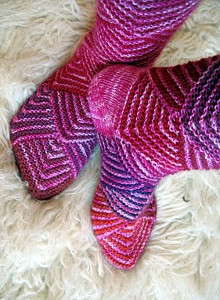 Rose Diamond Socks