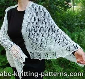 Romantic Lace Shawl