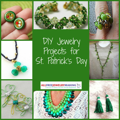 35 DIY Jewelry Projects for St Patricks Day