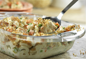 Super Chicken Pasta Casserole