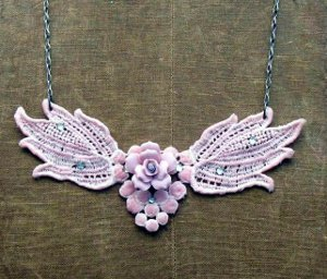 Stunning Lace DIY Necklace