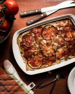 Eggplant and Herb Lasagna