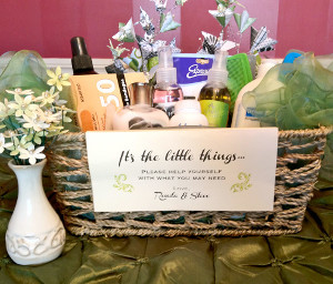 Bathroom kit wedding