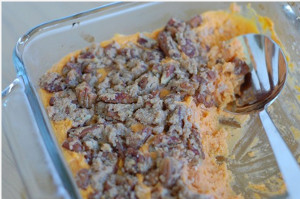 All-Natural Sweet Potato Casserole