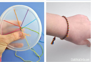 How to Make a Friendship Bracelet with Recycled Lid