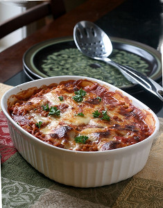 Chicken Parmigiana Bake