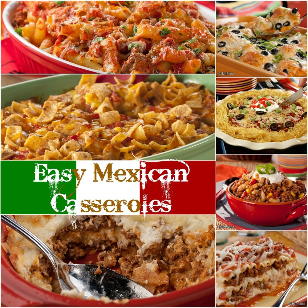 Easy Mexican Casserole Recipes: 16 Of The Best Mexican