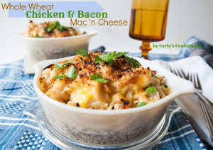 Whole Wheat Bacon Mac and Cheese
