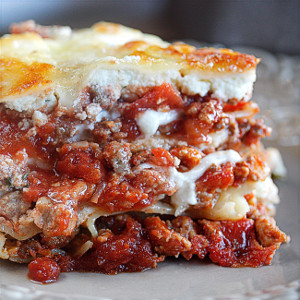 World's Best Lasagna | AllFreeCasseroleRecipes.com