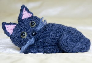 Knit Cat Pattern