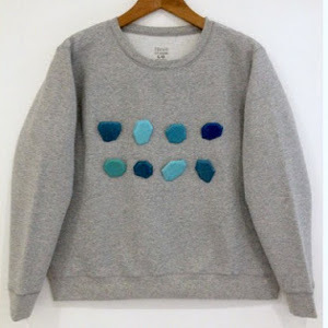 Gem No-Sew Sweater Upcycle